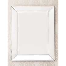 Tapered Glass Decorative Mirror