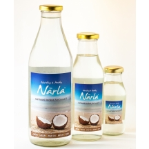 Narla Cold Pressed, Organic And Unrefined Coconut Oil - 500ml