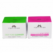 Organics Therapie Cure  Acne Combo