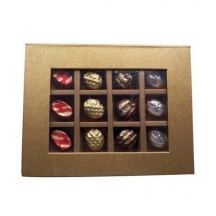 Finely Decorated Chocolate Box.