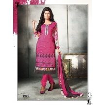 Royalvilla Exclusive New 1010_glam Up Gorgeous Pink Straight Salwar Suit