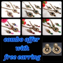 Combo Offer With Free Earring
