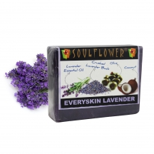 Soulflower Everyskin Lavender Soap