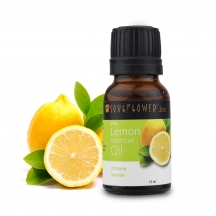 Soulflower Essential Oil Lemon