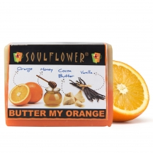 Soulflower Butter My Orange Soap