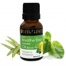 Soulflower Essential Oil Breathe Easy