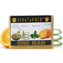 Soulflower One Man Soap