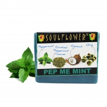 Soulflower Pep Me Mint Soap