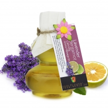 Soulflower Lavender Bergamot Calming Aroma Massage Oil