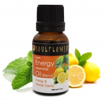 Soulflower Essential Oil Energy