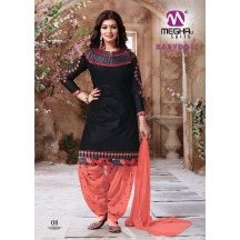 08_21_babydoll Cotton  Salwar Suit