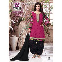 01_21 Babydoll Cotton Salwar Suit