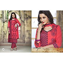 06_royal Touch Straight  Cotton Salwar Suit