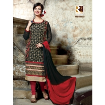 05_premium Georgette Straight Salwar Suit