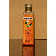 Orange Body Massage Oil