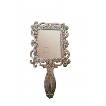 Handcrafted Compact Hand Mirror