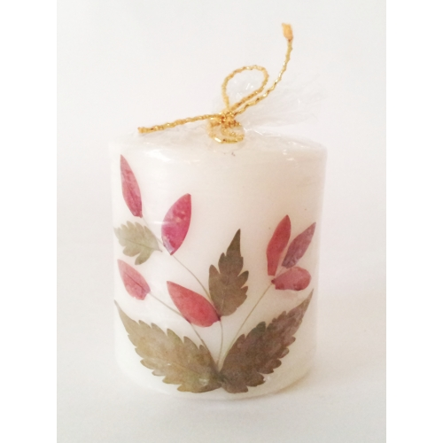 Handmade Scented Candle With Real Flowers
