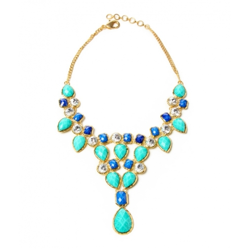Stylish Blue Crystal Dune Necklace available at Craftsvilla for Rs.3400 8ba2c04364
