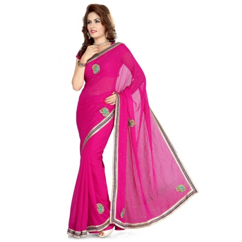 Imani Casual Georgette Saree