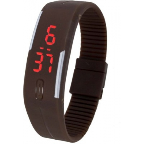 Led Digital Brown Watch available at Craftsvilla for Rs.129