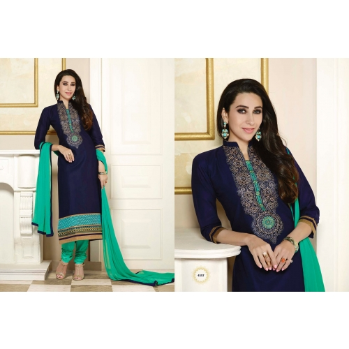 Simply Gorgeous Straight Karishma Blue