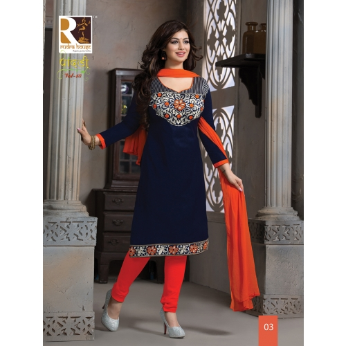 03 Fine Glorious Blue Embroidered Partywear Suit Online Shopping Online Shopping