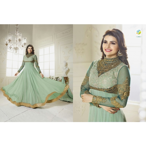 141 Gorgeous Green Salwar Suit