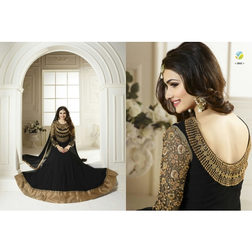 143 Gorgeous Black Salwar Suit