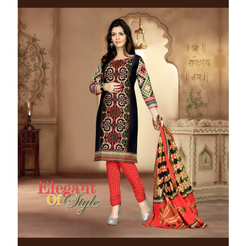 Hinnari 1001 Casual And Party Wear Straight Suit