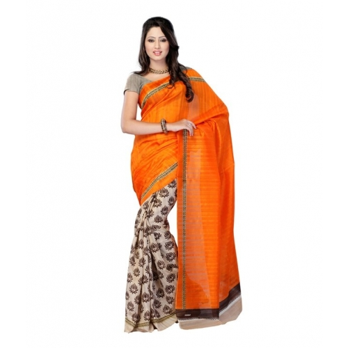 Muta Bhagalpuri Art Silk Saree