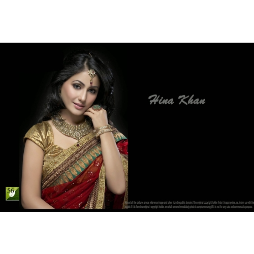 Hina Khan Bollywood Saree