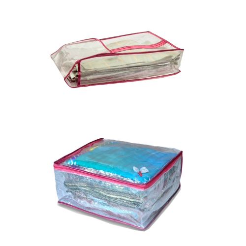 Combo Of Suit Cover Saree Box Net