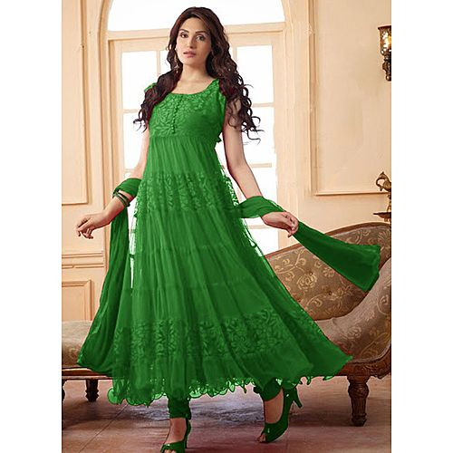 Latest Green Anarkali Suit