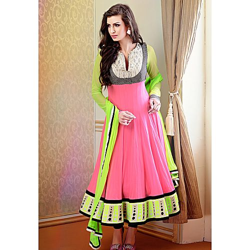 Om New Designer Christmas Special Multi Color Anarkali Salwar Suit