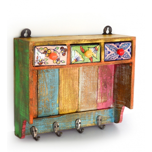 Buy Wall Hanger With 3 Drawers Online, Latest Wall Hanger