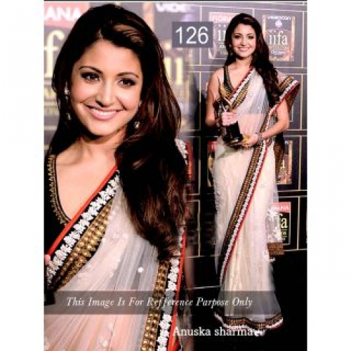 Saree Anushka Sharma Bollywood Style Saree