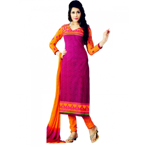Beautiful Partyware Salwar Kameez With Embroidery Work
