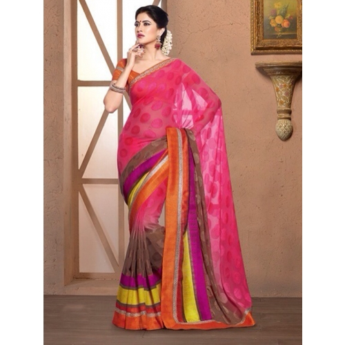 Beautiful Stunning Color Saree For Every Occasion