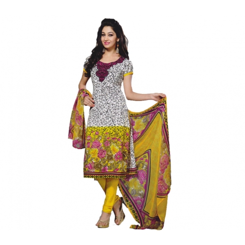 Stylish New Design Salwar Suit Crepe Material