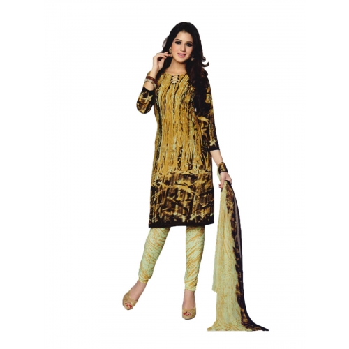 Beautiful Salwar Suit With Crepe Dress Material