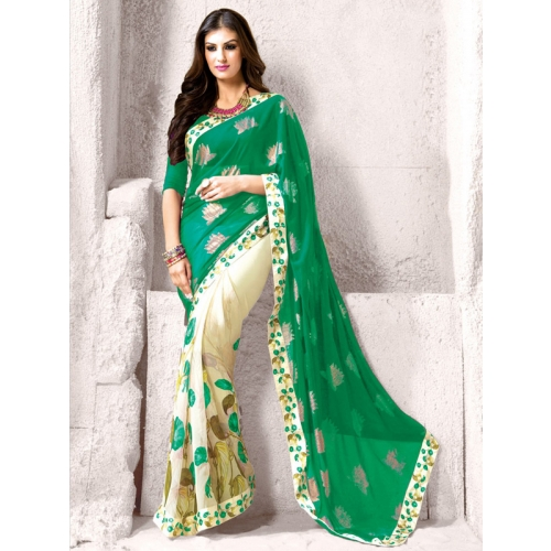 A Perfect Drape Is This Beautiful Printed Saree