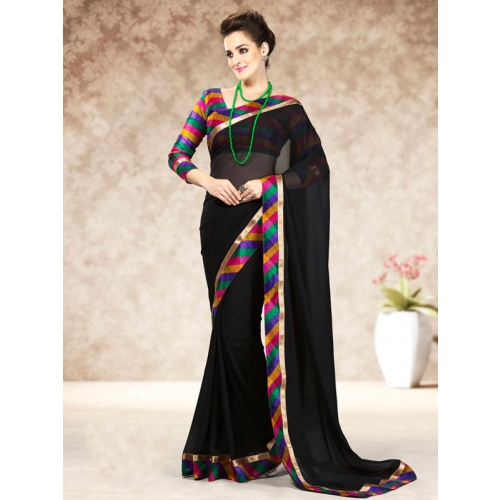 Beautiful Colourful Chiffon Saress
