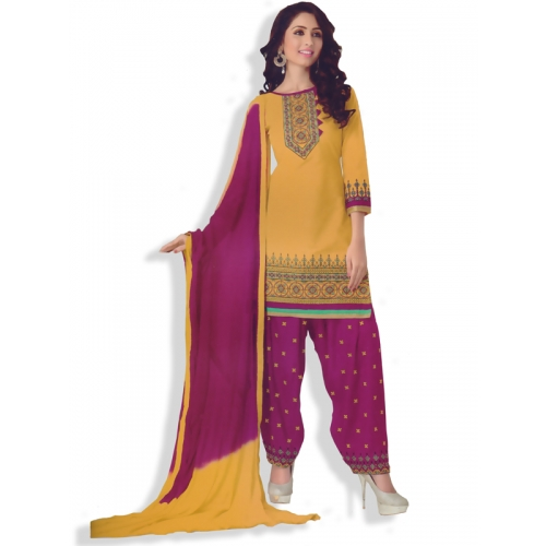 Eleqant Looking Salwar Kammez Dress Material