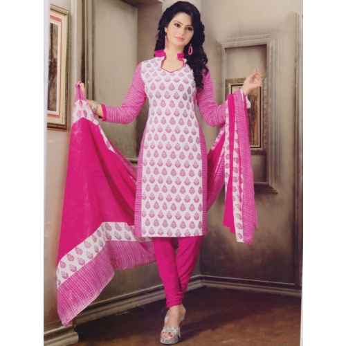 Beautiful Crepe Printed Salwar Suit Dress Material