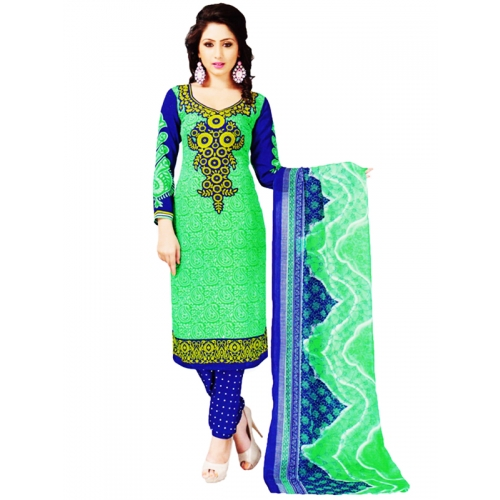 Beautiful Crepe Salwar Kameez Dress Material