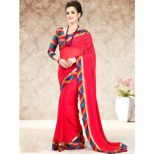 Beautiful Colorful Chiffon Sarees