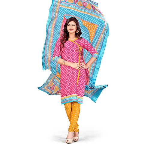 Summer Cool Beautiful Heavy Cotton Salwar Suit Material S