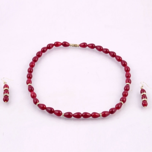 Trendy Mala With Earrings
