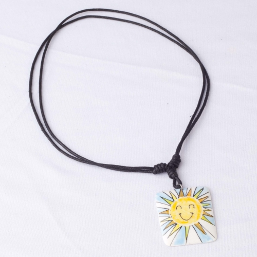 Smiling Sun Necklace.