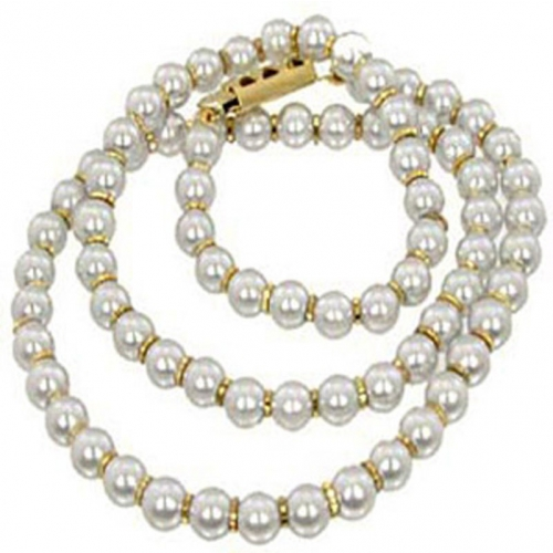 Snow White Pearl Necklace
